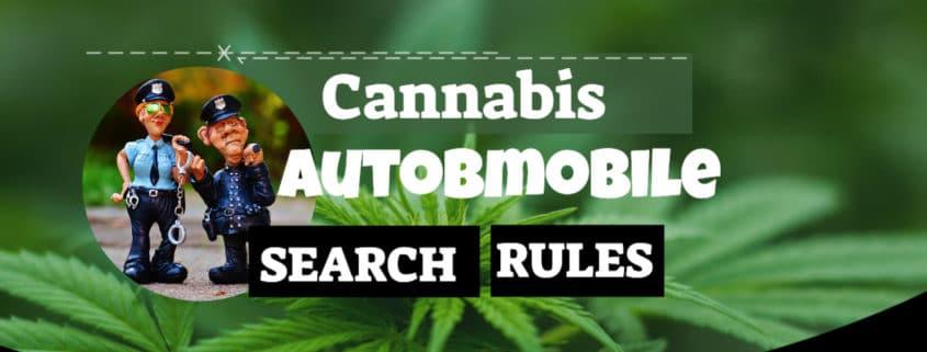Cannabis Automobile search rules 2020 www.micannabislawyer.com