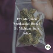 Michigan Cananbis Lawyers: Two Marijuana Speakeasies Busted