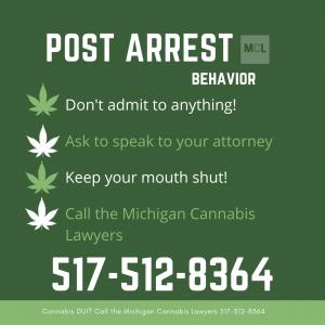 cannabis dui arrest www.michigancannabislawyers.com