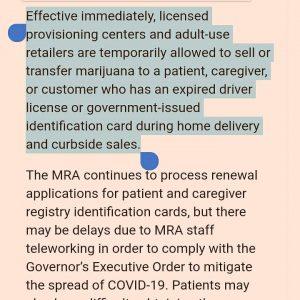 MRA emergency rules expired IDS www.michigancannabislawyer.com